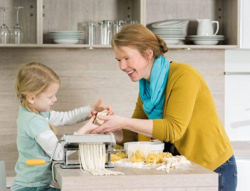 Die ideale Höhe der Arbeitsplatte in der Küche